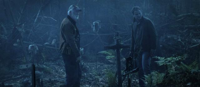 dois homens no cemitério
