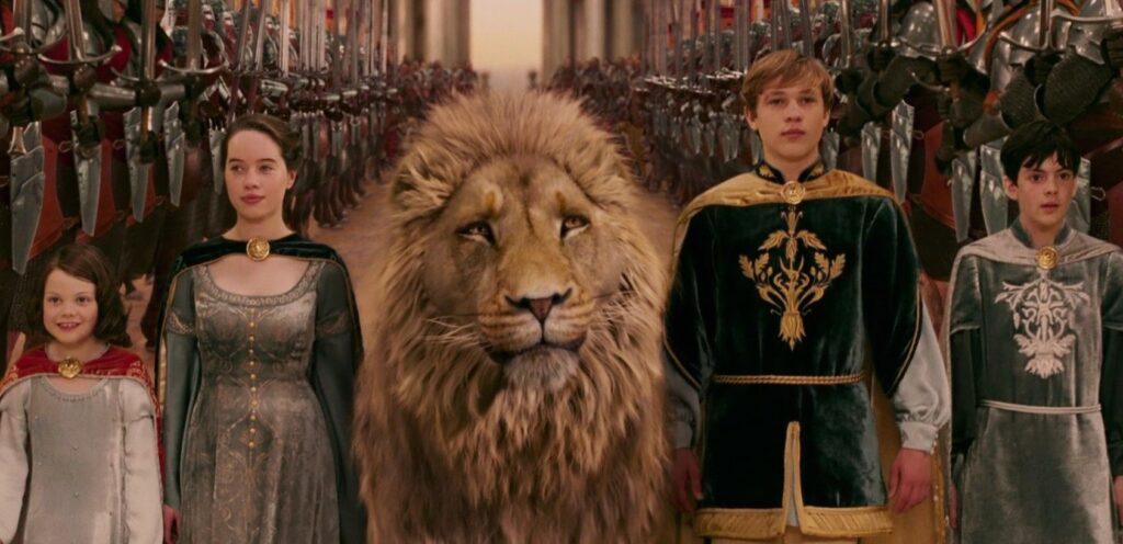 As Crônicas de Nárnia - o Leão, a Feiticeira e o Guarda - roupa